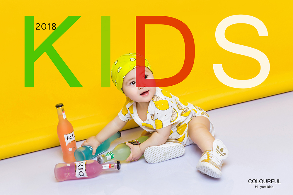 儿童摄影海报相册PSD素材 模板-第26张