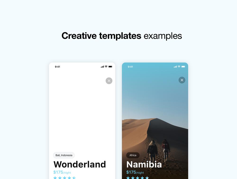 适用于iOS和Sketch的旅行UI工具包 UI界面-第5张