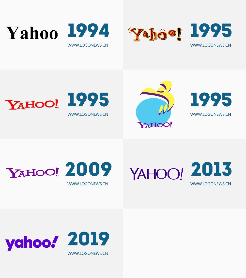 雅虎时隔6年再次换LOGO,确实比之前好很多