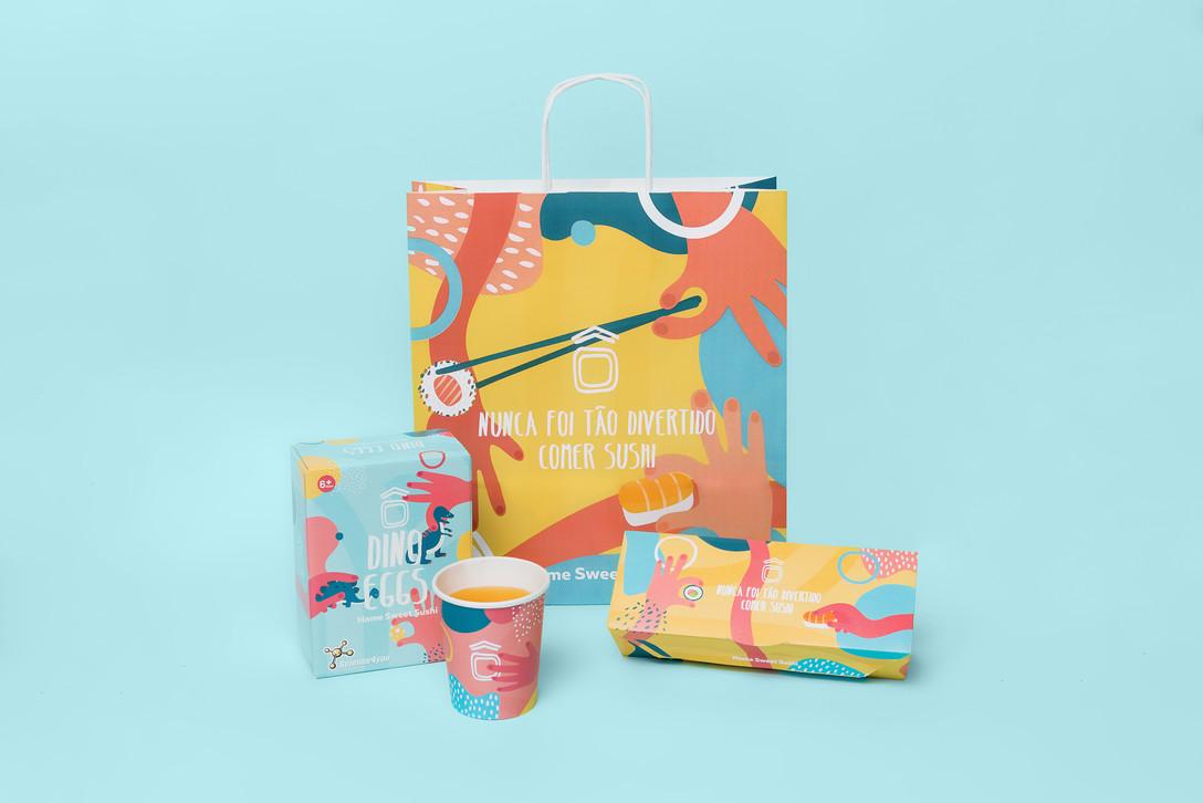 儿童寿司餐厅包装设计-Savvy Agency 作品
