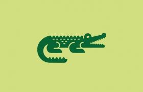 鳄鱼元素logo