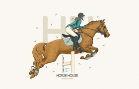 Horse House马屋品牌logo设计