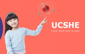 商业推广儿童教育Banner海报PSD模板