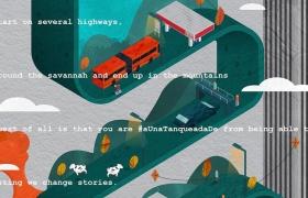 ESSO油站广告:难忘的旅程