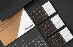 Dix pile品牌设计欣赏