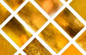 黄金色超高清纹理背景JPG素材