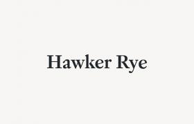 Hawker Rye设计
