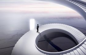 20张概念空间高端地产海报