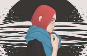 Yuschav Arly时尚人物插画作品