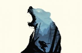 利用Photoshop创建荒野猎人海报