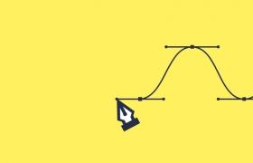 如何用钢笔工具画出完美的贝塞尔曲线?