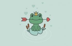 如何在Adobe Illustrator中创建一幅青蛙公主插画