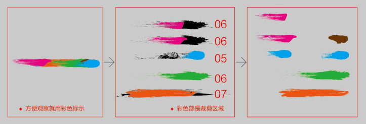 毛笔字体设计教程
