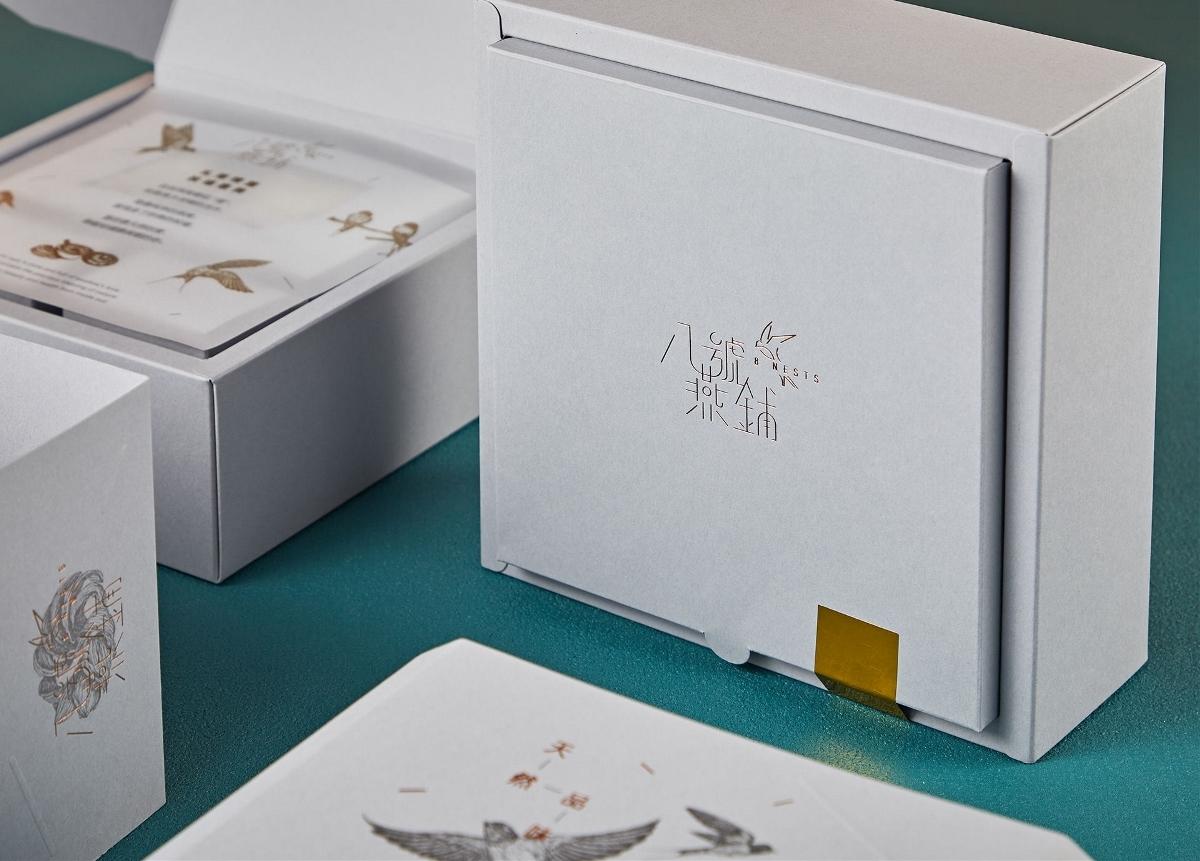 传统与现代相融合的燕窝包装设计