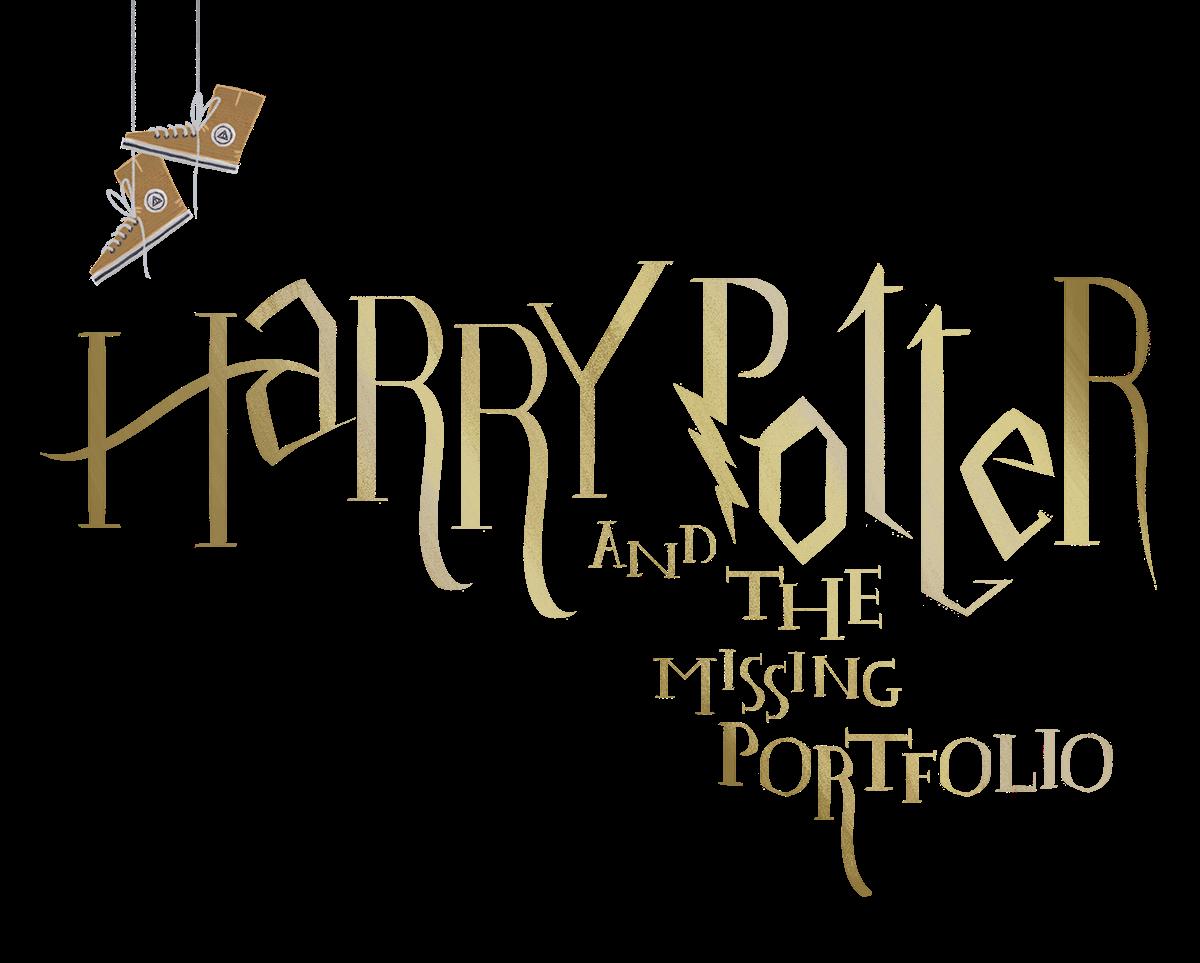 """""""哈利波特的公文包""""创意插画设计"""