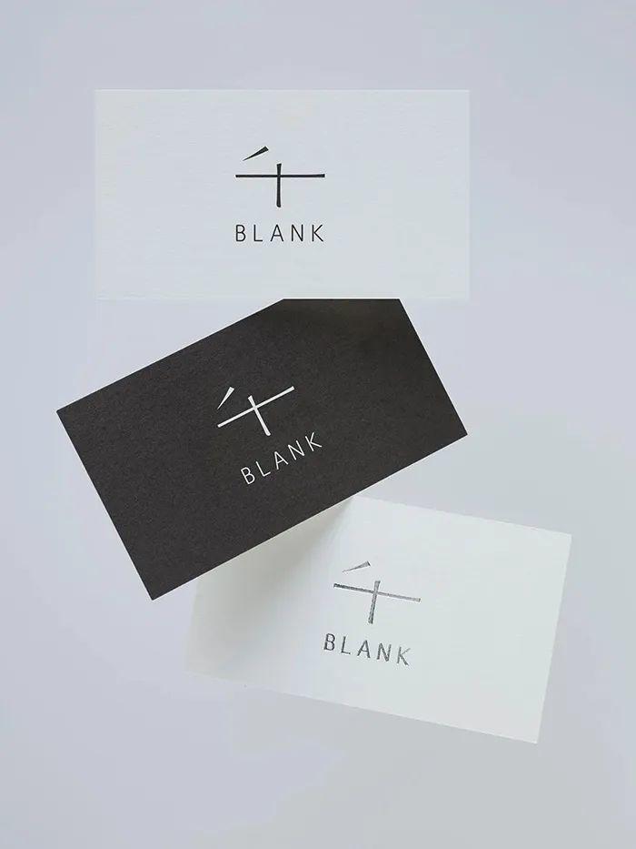 日本木制家具品牌BLANK视觉形象设计